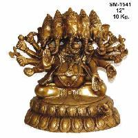 Brass Ganesh Statue- G-007