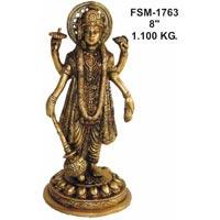 Brass Vishnu Laxmi BVL-02