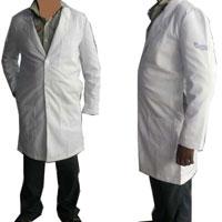 White Long Lab Coat