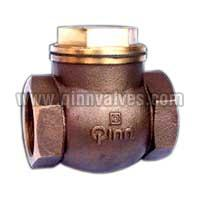 Bronze Horizontal Check Valve Piston Type(q-58)