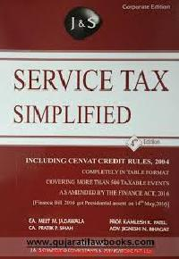 Service Tax Law Books