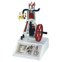 Sectional Model of 4 Stroke Cycle Petrol Engine