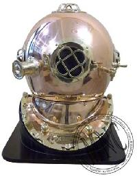 Copper & Brass Diver's Helmet