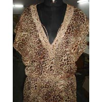 Embroidered Polyester Top
