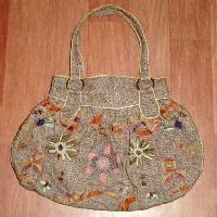 Woolen Ladies Handbags 01
