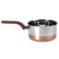 Stainless Steel Copper Bottom Sauce Pan