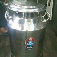 Steel Milk Can Pot Jug
