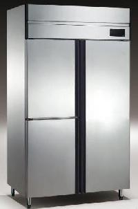 3 Door Stainless Steel Freezer