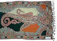 Jacquard Shawls
