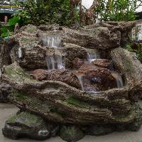 fiber glass made waterfalls