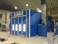Downdraft Spray Painting Booths
