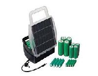 solar rechargeable battery