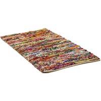 Loop payal multi Chindi rug