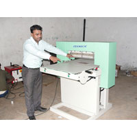 Fabric Swatch Cutting Machine