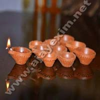 Clay Oil Diya