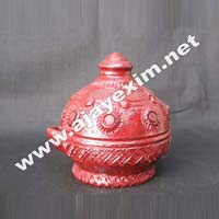 Decorative Clay Oil Lamps