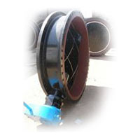 Rubber Seat Double Offset Butterfly Valve