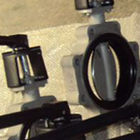 Single Piece Molded Seat Concentric Butterfly Valve