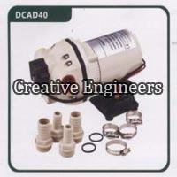 Fuel monoblock DC diaphragm pump