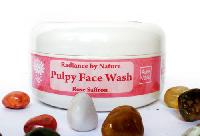Auravedic Pure Pulpy Face Wash, Rose Saffron