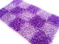 Polyester Shaggy Purple Rug