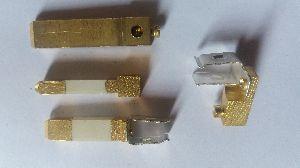 Electric flate pin