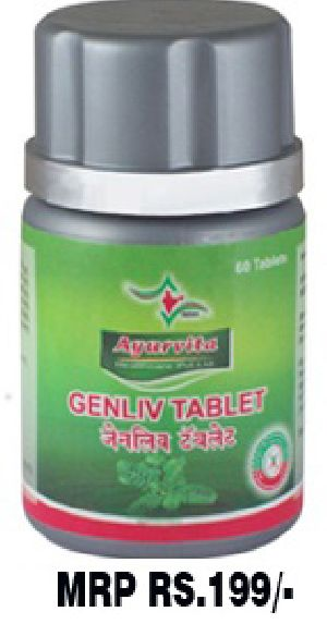 Genliv Tablets Poly Herb Preparations