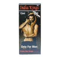 India Kings Oil 15 Ml X 10 Bottle Penis massage oil for premature ejaculation