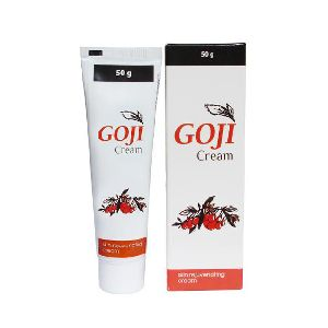 Indian Ayurvedic Goji cream For Skin Rejuvenating Cream. (50 Gram X 2 Tubes)