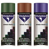 dolphin spray paint