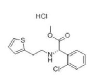2-Thienylethamino (2-Chlorophenyl) Acetate Hydrochloride