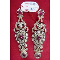Diamond Polki Earrings (1041)