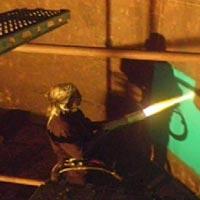 Flame Spray Powder Coating
