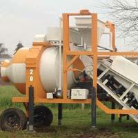 Portable Conveyor Concrete Batching Plant
