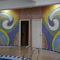 Glass Mosaic Work