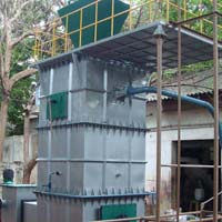 wood biomass gasifier