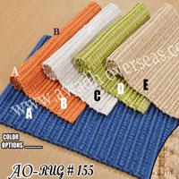 Chenille Designer Rib Rug