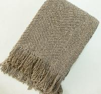 Cotton Chenille Throw