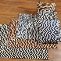 Jacquard Fabric Rug AO-5006