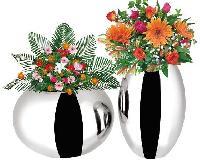 Stainless Steel Flower Vases