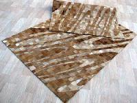 Stylist Patchwork Carpet-maxwell beige brown