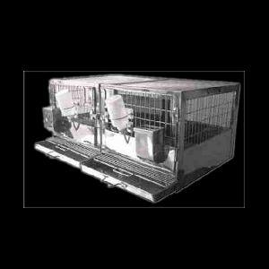 Rabbit Cage Breeding Type & Trolley