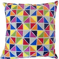 Cotton Emb Cushion Cover