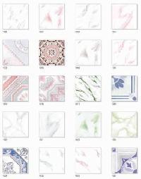 White Matt Series Floor Tile