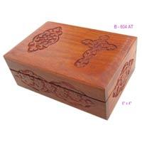 Wood Cross Box