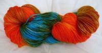 Twisted Dyed Yarn