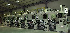 Used Eight Color PVC Sheet Printing Machine