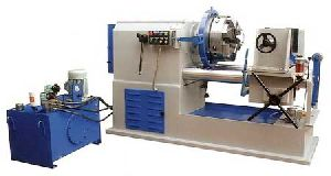 Hydraulic Pipe Threading Machine