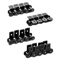 Roller chain attachments