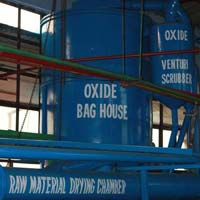Raw Material Drying Chamber